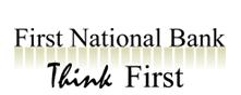 First National Bank - Think First